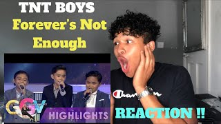TNT Boys - Forever's Not Enough On GGV | MY REACTION