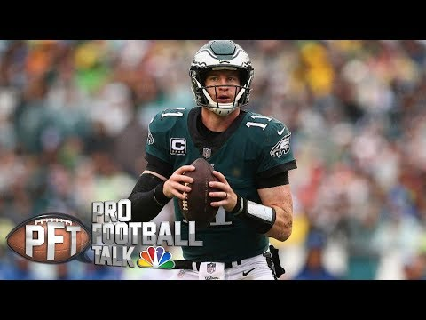 Video: Would Eagles' Nick Foles step up if Carson Wentz can't play? | Pro Football Talk | NBC Sports