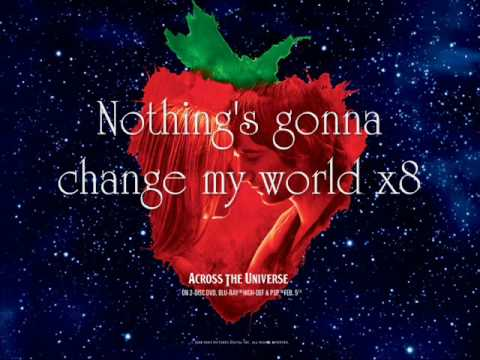 Across the Universe (Song) by Jim Sturgess