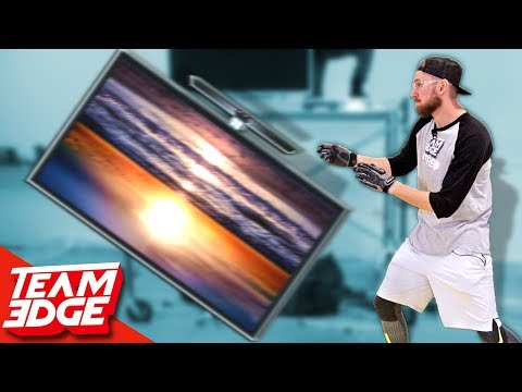 TV Flip | HUGE Flat Screen TV!! (видео)