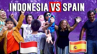 Video INDONESIA VS  SPANYOL- CHALLENGE & DESPACITO DANCE - Gen Halilintar MP3, 3GP, MP4, WEBM, AVI, FLV Desember 2017