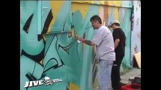 SEEN, CAN2, COPE2 & ZEBSTER - WALLSTREET GRAFFITI MEETING