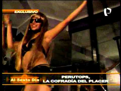 Perutops.Com - Perutops en Reportaje del Programa Al Sexto Dia de Canal 5.