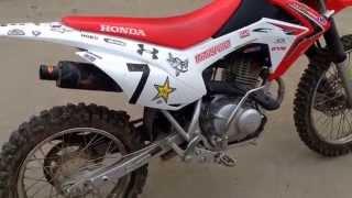 6. 2014 Honda CRF 125 four stroke