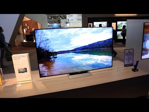 Sony X930D and X940D TVs - 2016 CES