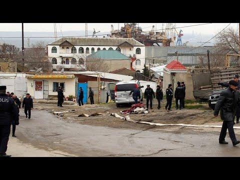 Aserbaidschan: Viele Tote bei Brand in Drogenklinik