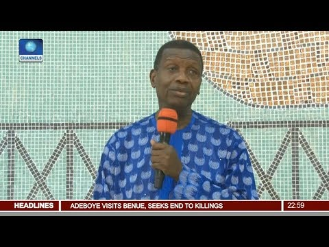 Pastor Enoch Adeboye Visits Benue, Seeks End To Killings Pt.1 |News@10| 16/03/18