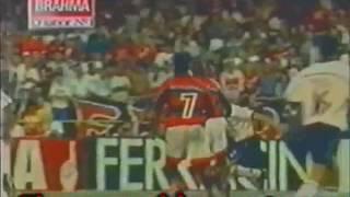 Flamengo goleou o Corinthians por 4x1 em 98.