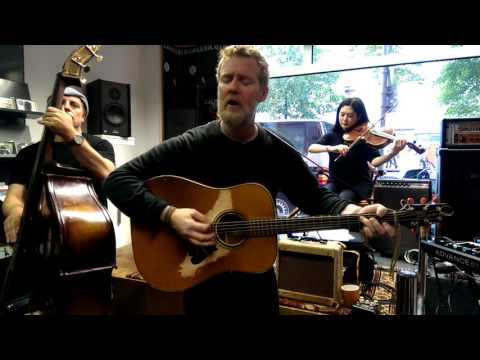 Glen Hansard - When Your Mind's Made Up (Once) live at Michelle Records (видео)
