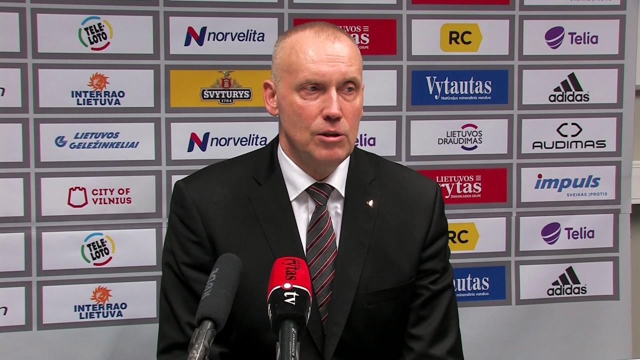 """R. Kurtinaitis: """"Buvome geri kaip komanda. Tiek puolime, tiek gynyboje"""""""