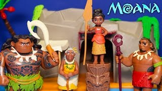 Video Unboxing Moana Adventure Pack and Playing Games with Toys MP3, 3GP, MP4, WEBM, AVI, FLV Juli 2018