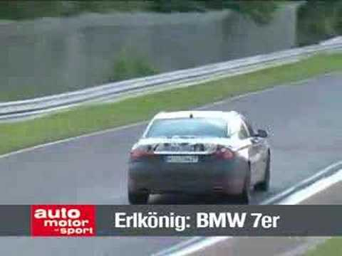 Video: New BMW 7 Series testing