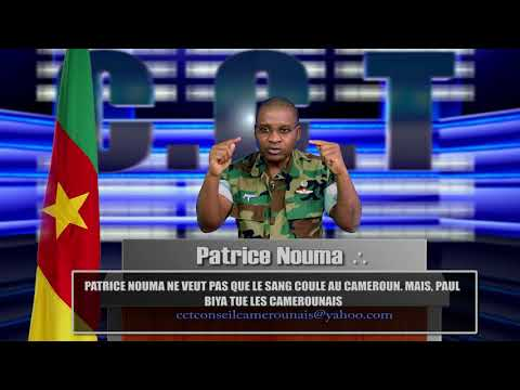 Selon Patrice Nouma c'est le président Paul Biya q