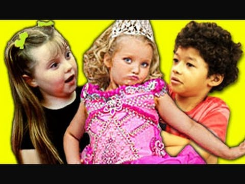 KIDS REACT TO HONEY BOO BOO