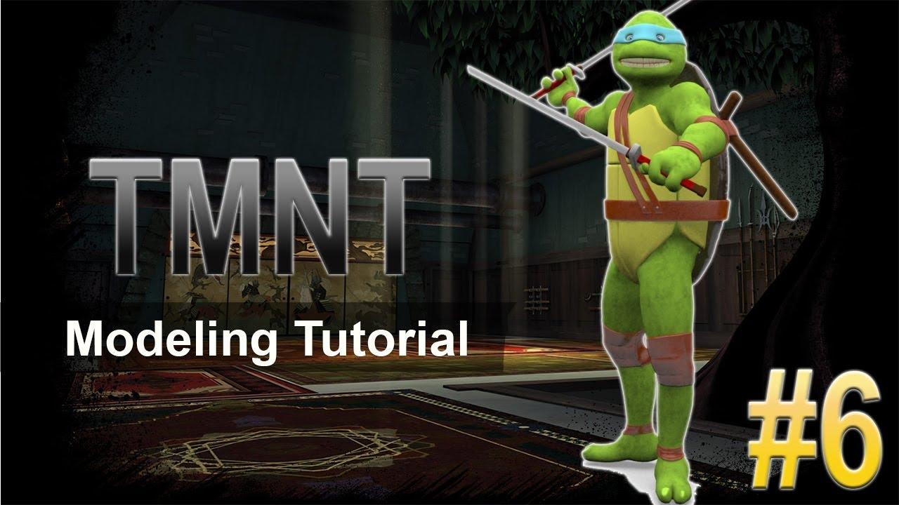 cartoon character modeling 3ds max tutorials