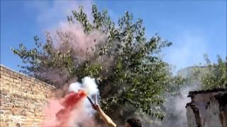 Bengala humo de colores nacional