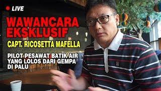 Video WAWANCARA Captain Ricosetta Mafella - Pilot Pesawat Batik Air D6231 yang lolos dari gempa Palu MP3, 3GP, MP4, WEBM, AVI, FLV Oktober 2018