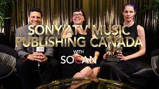Sony/ATV Music Publishing Canada with SOCAN