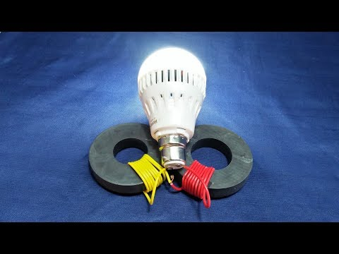 Free Energy Generator Magnet Coil  New Technology Science Project At Home New Idea