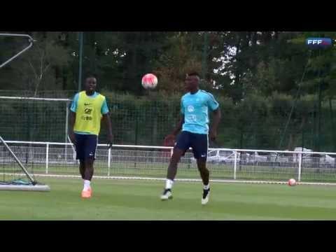 Paul Pogba demuestra toque y habilidad con Francia (vídeo)
