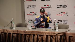 After finishing P2 in the Honda Indy Toronto, Alexander Rossi spoke with the media.
