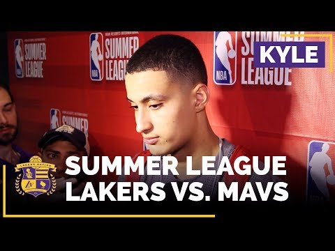 Video: Kyle Kuzma On The Big Win That Sends The Lakers To The Summer League Finals!