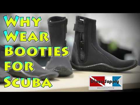 Why Do I need Booties for Scuba Diving_Búvárkodás