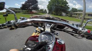2. 2001 Kawasaki Vulcan 1500 test drive review