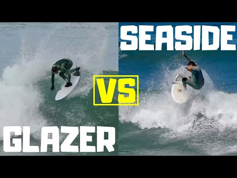 Which Surfboard Is The BEST For Smaller Waves? Glazer VS Seaside