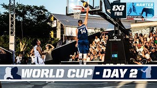 Check out all the action from the FIBA 3x3 World Cup 2017 from Nantes, France! Schedule (GMT +2): Women: 14:00 - Russia (8)...