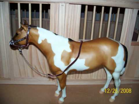 My Breyer Horses and Stuff I got for Christmas! (stopmotions are in there too)