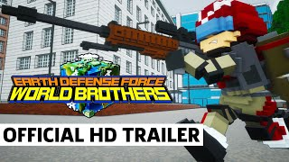 Earth Defense Force: World Brothers - Exclusive Western Release Trailer by GameSpot