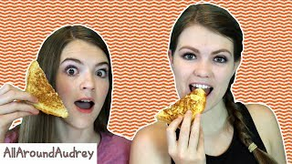 Hey guys! In today's video my sister JustJordan33 and I will be trying to guess the different types of cheese in our grilled cheese sandwiches! We love to eat grilled cheese for lunch so we decided that this would be a very fun video to make! Enjoy!__Subscribe for videos every Thursday!☆http://www.youtube.com/channel/UCS0kA-D1M87dDfkWRl_DLJA?sub_confirmation=1Comment down below what cheese you put in your grilled cheese sandwiches!♡Like this video if you enjoyed!Here are some more videos I think you might like:Operation Slime Challenge: https://www.youtube.com/watch?v=FycQVuqxORwCoke and Mentos Challenge: https://www.youtube.com/watch?v=ZZD0C2Fu-vsLip Retractor Challenge: https://www.youtube.com/watch?v=IXKf89bTx_EFast Food Fondue Challenge: https://www.youtube.com/watch?v=oUgfiExrN4URainbow Ice Bath Challenge: https://www.youtube.com/watch?v=sM8tujZbsLUNever Have I Ever: https://www.youtube.com/watch?v=n340lu1BIpYTwisted Twister:  https://www.youtube.com/watch?v=XzR_twNyxSEHungry Hungry Hippos Game Twist: https://www.youtube.com/watch?v=Z0kuKpzfh0YFamily Lip Retractor Challenge: https://www.youtube.com/watch?v=y_ridJVmS8EYou can send fanmail! AllAroundAudreyP.O. Box 6792N. Logan, Utah 84341__Follow Me On:Instagram- https://instagram.com/allaroundaudrey/Twitter- https://twitter.com/AllAroundAudreyFacebook- https://www.facebook.com/AllAroundAudrey?ref=profilePinterest- https://www.pinterest.com/allaroundaudrey/Musical.ly- AllAroundAudreyYouNow: AllAroundAudrey__♡ My Sister's Channel: https://www.youtube.com/channel/UCHOMvu3axPhTG5zLqrHynig♡ My Brothers' Channel: https://www.youtube.com/channel/UCCHmMn-aFceiyb81Z-fu-zw♡ Our Family Channel: https://www.youtube.com/channel/UCbZgDzTkBQMkPWYBFESJ3sQ♡ Check Out My Previous Video: https://www.youtube.com/watch?v=L2W9XQqECf8♡ For Business Inquiries: AllAroundAudrey99@gmail.com__Music Credits:B-Roll (ska) - Islandesque by Kevin MacLeod is licensed under a Creative Commons Attribution license (https://creativecommons.org/licenses/by/4.0/)Source: http://incompetech.com/music/royalty-free/index.html?isrc=USUAN1100315Artist: http://incompetech.com/Comedic Juggernaut - Music to Delight by Kevin MacLeod is licensed under a Creative Commons Attribution license (https://creativecommons.org/licenses/by/4.0/)Source: http://incompetech.com/music/royalty-free/index.html?isrc=USUAN1100288Artist: http://incompetech.com/__Thanks for Watching!XOXO,Audrey
