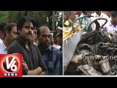 Pawan Kalyan responds over Medak school bus accident tragedy