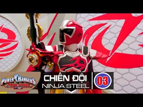 Siêu Nhân Chiến Đội Ninja Steel Tập 3 : Trạng Thái Bậc Thầy - Thời lượng: 23:04.