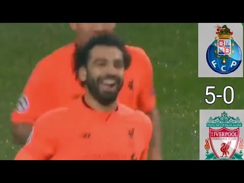 Liverpool vs Porto-5-0- All Goals & Extended Highlights 14/2/2018 HD
