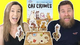 Cat Crimes Game - Bad Cats Doing Bad Things But Who Did It?