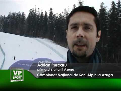 Campionat Naţional de Schi Alpin la Azuga
