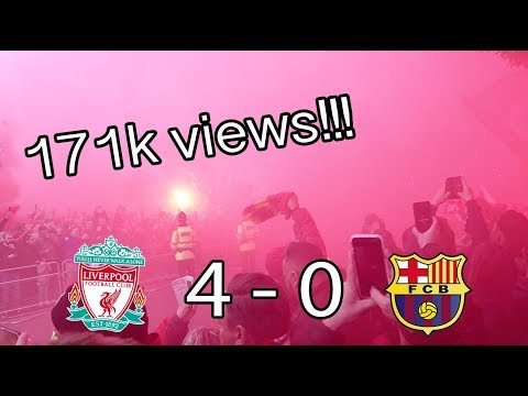Liverpool Atmosphere Stuns Barcelona in Champions League Semi-Finals 2019