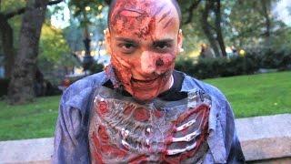 Zombie Halloween Prank NYC