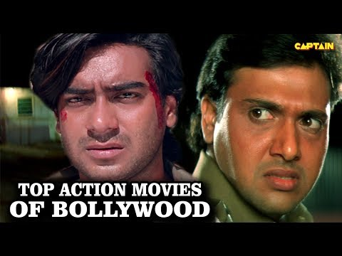 Top Action Scenes Of Bollywood Movies    Govinda V/S Ajay Devgan