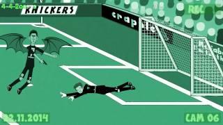 Arsenal Vs Manchester United 1v2 By 442oons -23.11.14 Goals Highlights Rooney Gibbs Football Cartoon