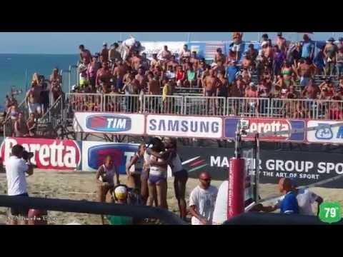 LVST15 4^ Tappa Riccione - Punto vincente di Urbino per la finale 1° Posto