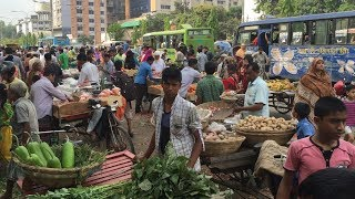 Incredible roadside Bazar market in Dhaka Bangladesh. This road side market has everything to get in the morning. Market started at 5.30AM very morning. Market is located at Mirpur Chinese Restaurant Area Dhaka.