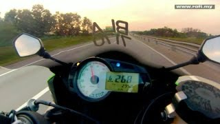 9. Kawasaki ZX6R Top Speed & High Speed