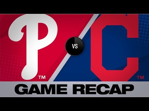 Video: Harper's 3-run homer in the 5th lifts Phils | Phillies-Indians Game Highlights 9/21/19