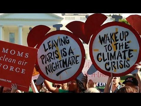 ΗΠΑ: Συνεχίζονται οι αντιδράσεις για την απόσυρση από τη συμφωνία για το κλίμα