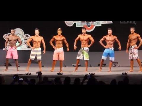 Men's Physique todas las categorías y absoluto