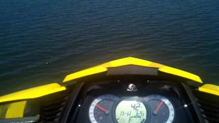 10. 2010 SeaDoo RXT-215 Speed Test 0-60mph