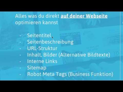 Jimdo-Webinar: SEO Grundlagen für Google & Co.